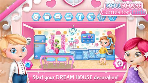 decorate doll house games dollhouse decorating games android apps on google play
