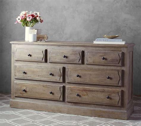 Dresser Beds by Linden Bed And Wide Dresser Set Pottery Barn