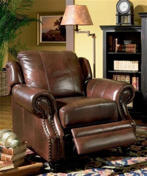 burgundy leather sofa nailhead trim nailhead recliner