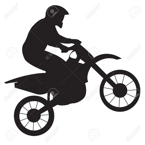 dirt bike clipart motorcycle clipart dirt bike pencil and in color
