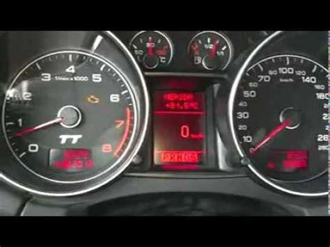 Audi Dsg Probleme by Problem Dsg Audi Tt 3 2 Quattro 2008 Youtube