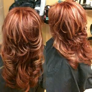 Auburn with blonde highlights hair pinterest blonde hair with