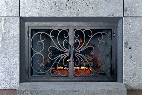 built in fireplace screens home ams fireplace inc