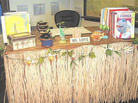 Desk Skirt by Susan Putting Students In Touch With Their Roots And
