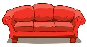 comfy couch cartoon comfy couch stock illustrations 781 comfy couch stock