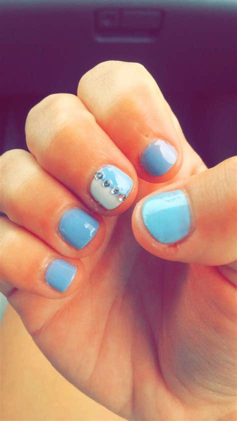 Naglar Design by 25 B 228 Sta Light Blue Nail Designs Id 233 Erna P 229