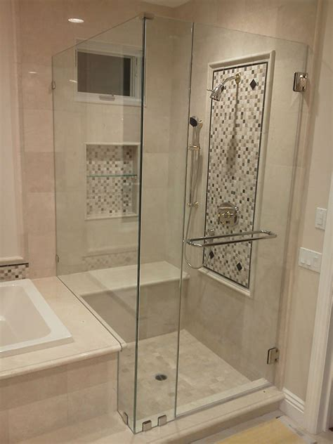 Bath Shower Screen Seals installing a frameless shower doors bath decors