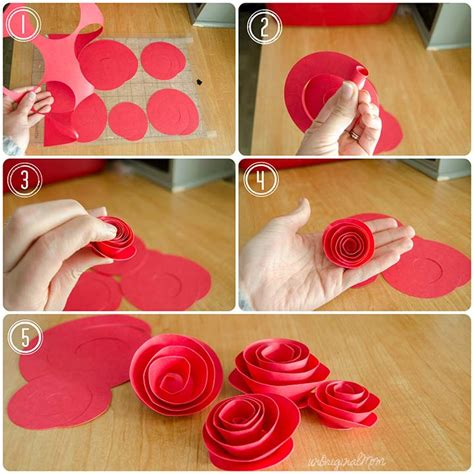 How To Make A Rosette Out Of Paper - diy paper rosette wreath with free cut file