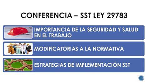 Mba Centrum Costo by Cambios De La Normativa De Seguridad Y Salud En El Trabajo