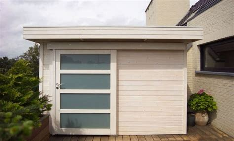 tokyo flat roof contemporary garden shed sheds