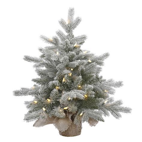 vickerman 384053 24 quot x 24 quot frosted sable pine 50 warm