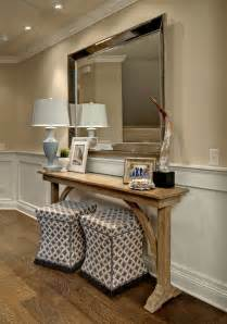 Entryway Table With Mirror Stunning Entryway Table Decorating Ideas Gallery In Entry Traditional Design Ideas