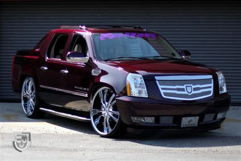 cadillac truck cadillac escalade ext luxury pickup truck restyled by