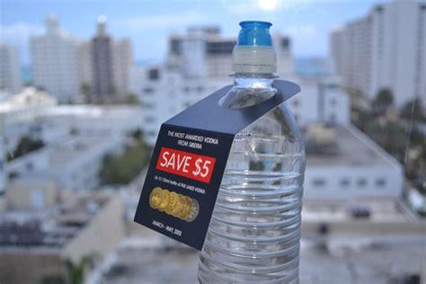 Per Botol Hanger bottle hangers for your business elite flyers