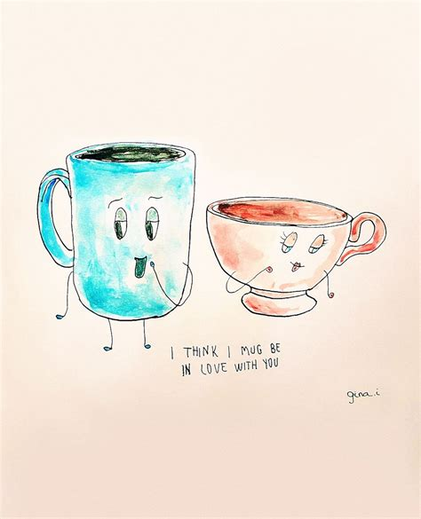 Best Mug by Love S A Punny Thing So I Created These Love Puns Bored