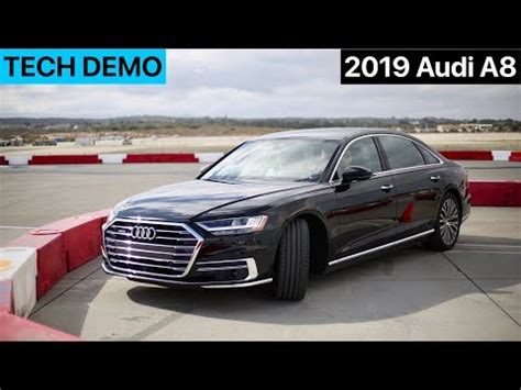 2019 Audi A8 Features by 2019 Audi A8 Active Safety Feature Demo