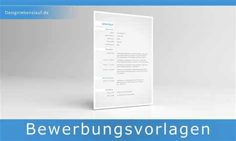 Lebenslauf Formatierung Kurzbewerbung Muster Mit Deckblatt Und Anschreiben Cv