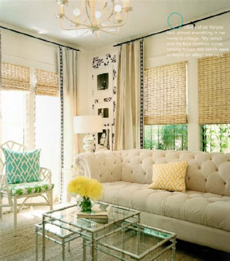 designer l shades l tolly floral and home design bamboo shades