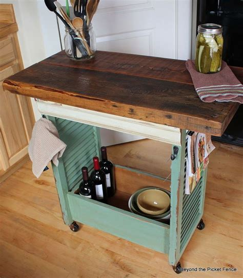 Kitchen Island Trolley Diy Best 25 Rolling Kitchen Island Ideas On