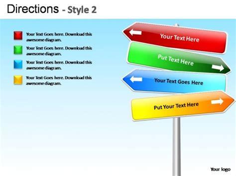 Directions Style 2 Powerpoint Presentation Slides Presentation Slides