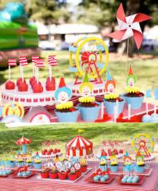 circus themed birthday decorations circus cake kara s ideas