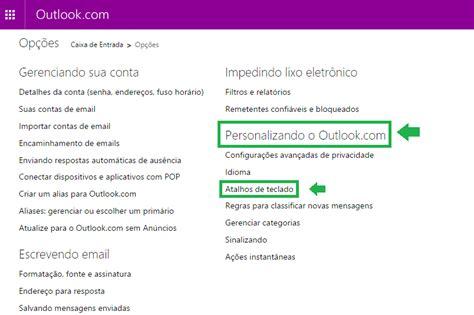 mudar layout yahoo mail alterar atalhos de teclado do outlook com hotmail entrar