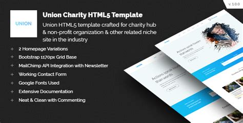 Union Charity Responsive Html5 Template 247 Development Foundation Html5 Templates