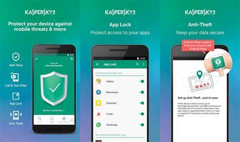 mobile kaspersky antivirus best antivirus for android icecream tech digest