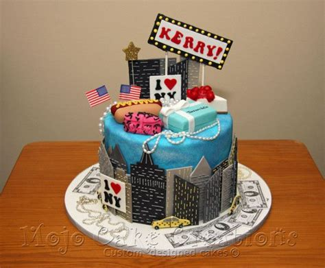 1 Year Birthday Ny - new york themed cake jared s bar mitzvah 11 15 14