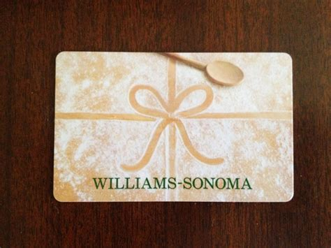 Williams Sonoma Gift Card Discount - williams sonoma gift cards