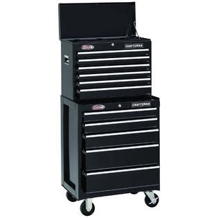 craftsman 26 inch 6 drawer tool chest craftsman 26 quot 6 drawer ball bearing tool chest black