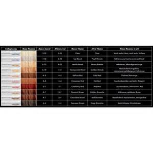sebastian cellophane colors sebastian cellophanes color chart brown hairs