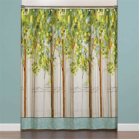 forest curtain forest study 70 inch x 72 inch shower curtain bed bath