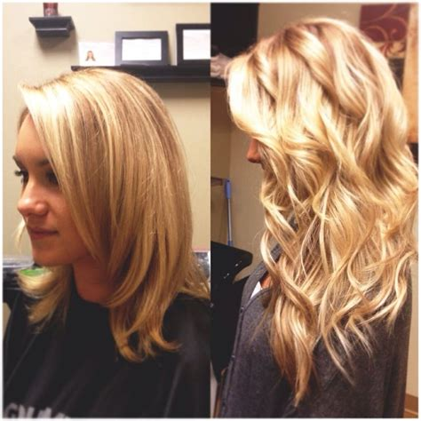 hair extensions before and after pin by katherine wolf on hair and