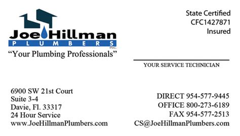 Hillman Plumbing by Tight Designs Printing Of Florida Page 32 Of 53 Servicing Web Development And Traditional