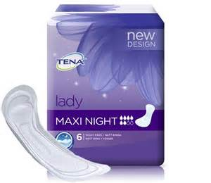 Used Stacking Chairs Tena Lady Maxi Night Pack Of 6 Incontinence Pads Tena