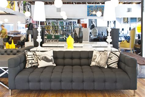 couch shopping modern furniture store in los angeles