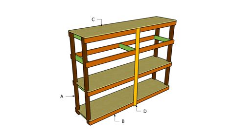 Garage Shelving Woodworking Plans Free Access Garage Shelving Wood Plans Mella Mah