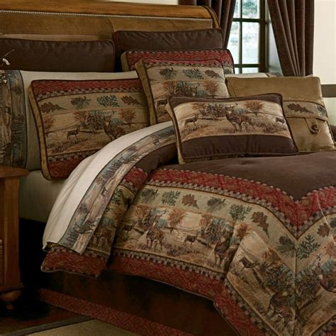 deer bedding set comforter deer and comforter sets on pinterest