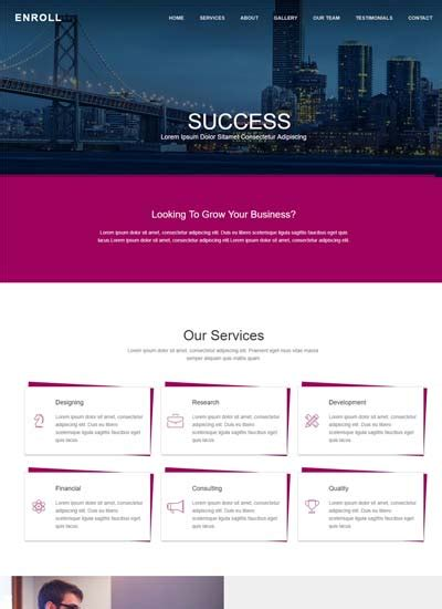 free bootstrap template for corporate moderna free responsive bootstrap html web templates