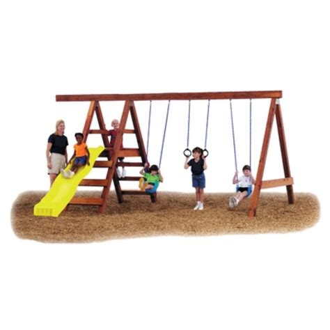do it yourself swing set swing n slide do it yourself pioneer custom play set by