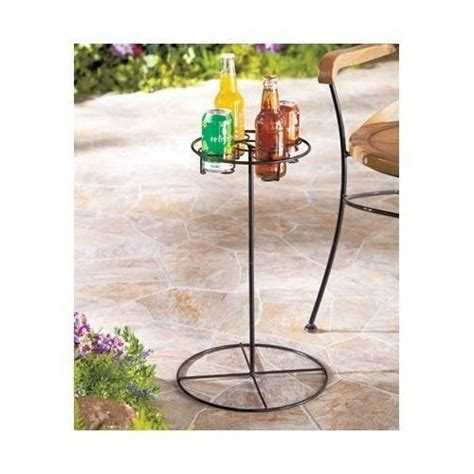 backyard drink holders outdoor drink holder patio furniture beverage stand table drinks stand outdoor drink