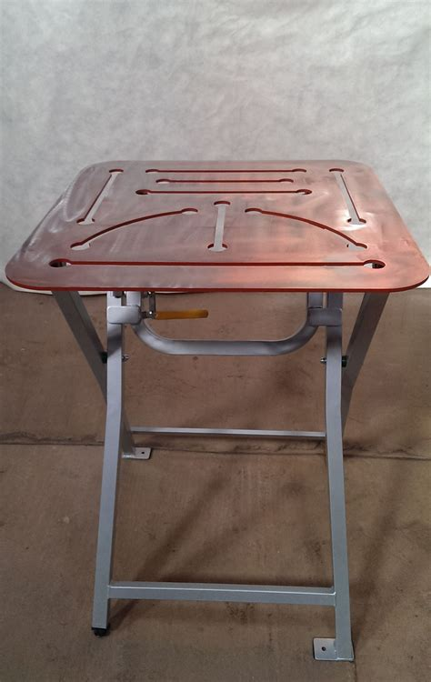 welded bench welding bench 600x580x6 laser cut collect