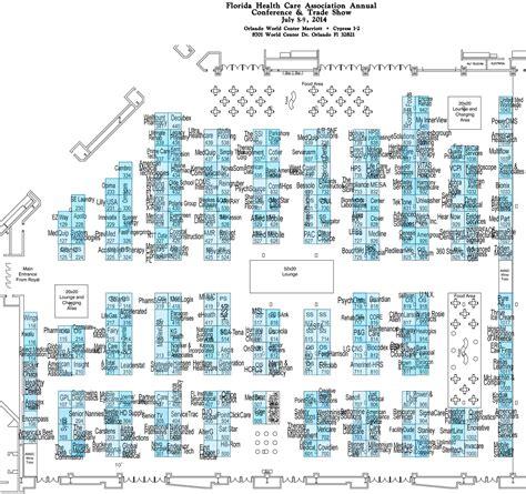 trade show floor plan floor plan florida healthcare association conference