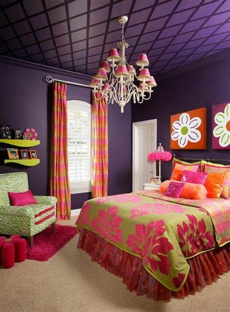 farbige decke farbideen schlafzimmer einflu 223 reiche farben und dekoration