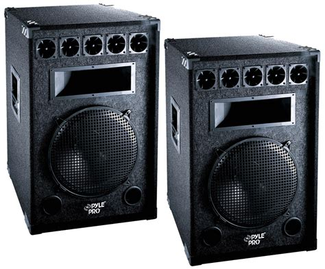 Speaker Fabulous 18 Inch 2000 Watt 2 pro audio pyle padh181 dj passive 2000 watts 7 way 18 quot cabinet speakers pair package pyle