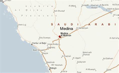 medina on world map medina location guide