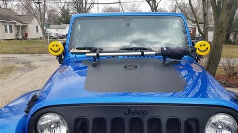 jeep kc kc hilites wrangler windshield side mounting brackets
