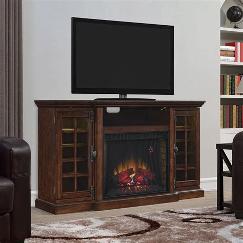 Fireplace Tv Stand Canada by Function Electric Fireplace Tv Stand In Cherry