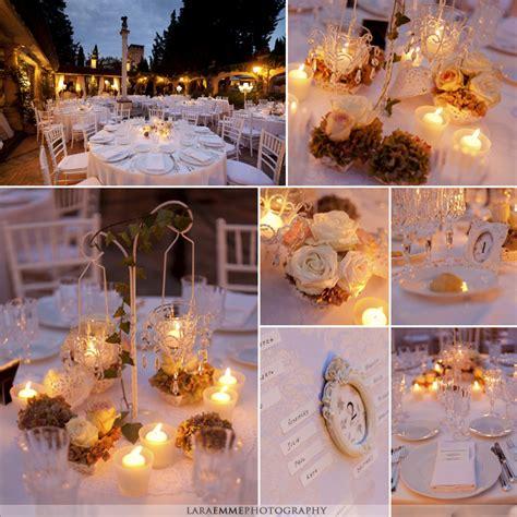 allestimenti tavoli matrimonio profumi vintage per un elegante matrimonio in toscana